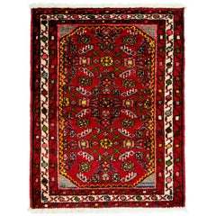 Early 20th Century Antique Hamadan Rug