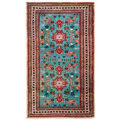 Whimsical Early 20th Century Shirvan Rug