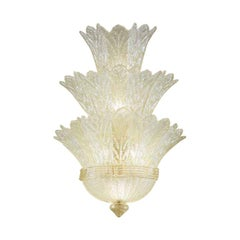 Vistosi Redentore Wall Sconce in Crystal and Graniglia by Studio Tecnico Vistosi