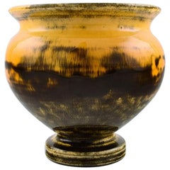 Kähler, Denmark, Svend Hammershoi, Glazed Stoneware Vase