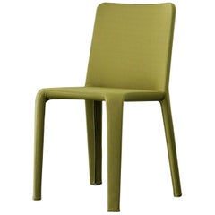 Bonaldo My Time Chair in Green Fabric by Dondoli and Pocci