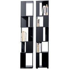Bonaldo Cubic Bookcase in Lacquered White by Gino Carollo