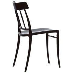 Bonaldo Giuseppina Chair in Black Plastic by Dondoli Y Pocci