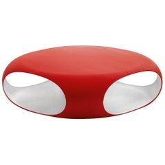 Bonaldo Pebble Coffee Table in Matte Red by Matthias Demacker