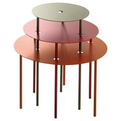 Bonaldo Three-Piece Qui Pro Quo Coffee Table by Gino Carollo
