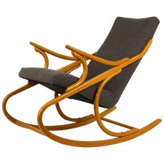 Midcentury Rocking Chair from Ton, 1960s