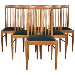 Danish Teak Dining Chairs by H. Klein for Bramin 1960s, Set of Six