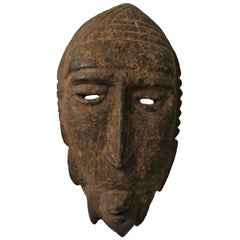 Superb Dogon Mask, Mali, Bob Germ Collection, Early to Mid-20th Century