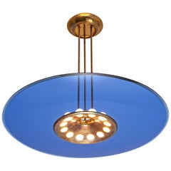 Max Ingrand for Fontana Arte Ceiling Lamp Model '1508'