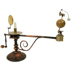 Orrery Made in Stockholm for the Russian Market with Cyrillic Types