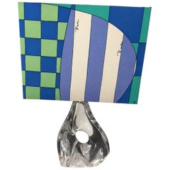 Daum Table Lamp with Pucci Lamp Shade