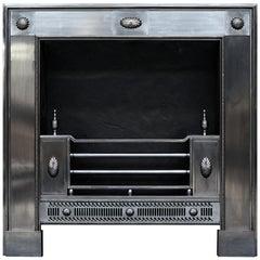 Classical George III Style Steel Register Grate