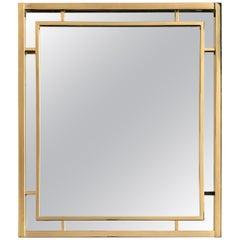 Romeo Rega Style Brass Mirror