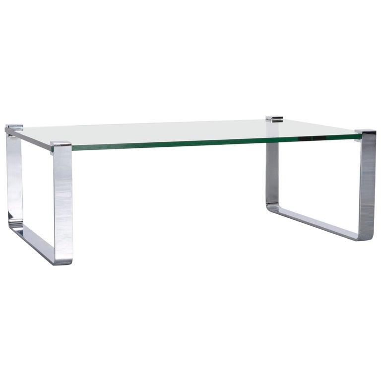 Ronald Schmitt Glass Coffee Table