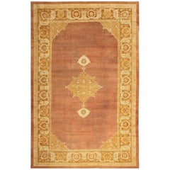 Large and Decorative Antique Indian Amritsar Rug