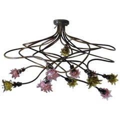 Large One of a Kind French Chandelier, circa 1920s