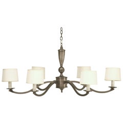 4' Diameter Pewter Masterpiece Chandelier