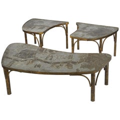 Philip & Kelvin LaVerne Tao Coffee Table and End Table Set