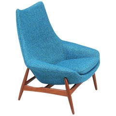 H.W. Klein High Back Lounge Chair for Bramin