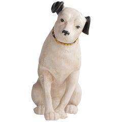 Papier Mâché RCA Victory Nipper Dog, circa 1920