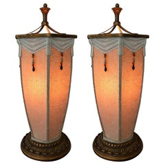 Pair of Chinese Lantern Lamps