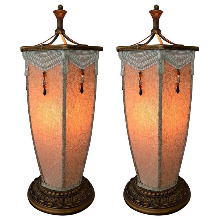 Pair of Chinese Lantern Lamps