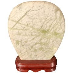 Jade Grasses Painting Stone, Collectors Delight