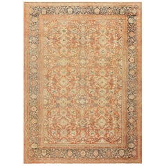 Decorative Antique Persian Sultanabad Mahal Rug