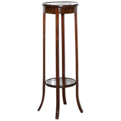 Nice Victorian Mahogany Handmade in England Jardinière Plant Pot Stand 1 of 2