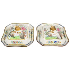 Pair of Chinoiserie Covered Dishes
