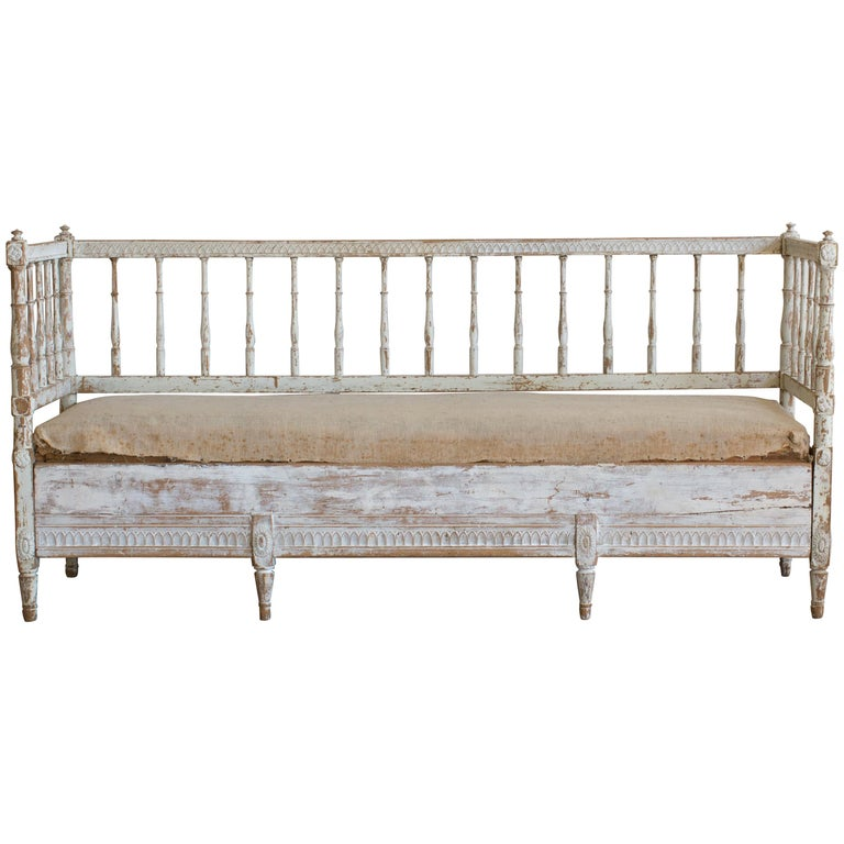 Antique Swedish Daybed
