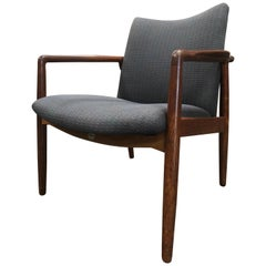 1950s William Watting Rosewood Armchair, Made in Denmark