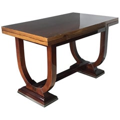 Art Deco Expandable Dining Table