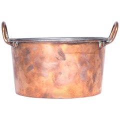 Antique Copper Pot from Sweden, Early 1900s