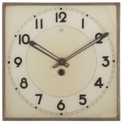 Junghans Art Deco Wall Clock