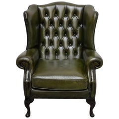 Delta Chesterfield Wing Chair