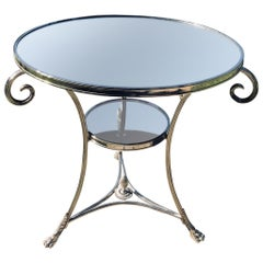 Neoclassical Gueridon Table