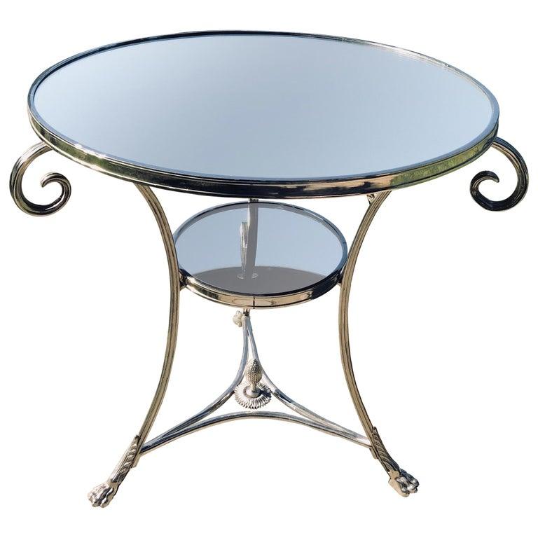 Neoclassical Gueridon Table