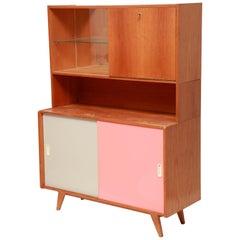 Midcentury Three-Piece Cabinet, Jiri Jiroutek for Interier Praha, 1960s