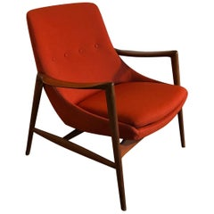 Westnofa Sculpted Lounge Chair, Norway, 1950s