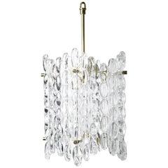 Orrefors Crystal Brass Lantern