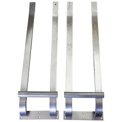 Pair of Steel Door Handles