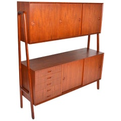Gunni Omann Model 3 Two-Tier Credenza in Teak #2