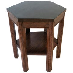 Octagonal Side or Drinks Table