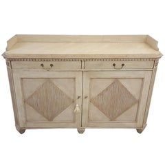 Painted Cabinet in the Neoclassic Manner