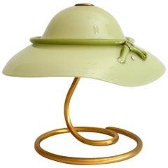 Green Murano Glass Table Lamp from La Murrina, 1970s