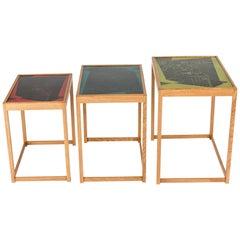 Set of Nesting Tables by David Rosén and Egon Møller-Nielsen