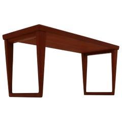 Aksel Kjersgaard Side or Coffee Table, 1960s by Kai Kristiansen, Denmark