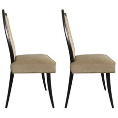 Pair of Harvey Probber Dining Chairs