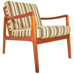 Ole Wanscher Model 109 Teak Lounge Chair